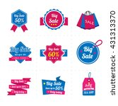 set of sale banner. sale labels. | Shutterstock .eps vector #431313370
