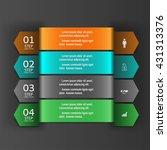 modern infographics business... | Shutterstock .eps vector #431313376