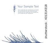 composite image of twigs ... | Shutterstock .eps vector #431314318