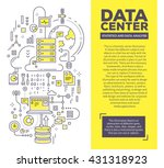 vector creative concept... | Shutterstock .eps vector #431318923