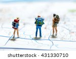 tourism and travel concept.... | Shutterstock . vector #431330710