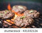 Bbq Burgers  Smoke And Fire ...