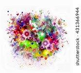 flowers | Shutterstock . vector #431366944