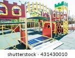 children's playground | Shutterstock . vector #431430010