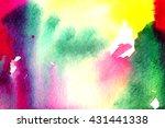 bright colorful macro... | Shutterstock . vector #431441338