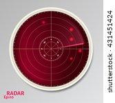vector illustration of red...   Shutterstock .eps vector #431451424