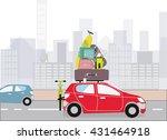 getaway from city | Shutterstock .eps vector #431464918