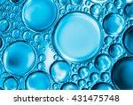 abstract water bubbles light... | Shutterstock . vector #431475748
