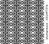 most common pattern found on... | Shutterstock . vector #431497576