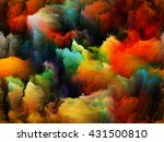 tragedy of color series.... | Shutterstock . vector #431500810