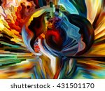 colors of the mind series.... | Shutterstock . vector #431501170