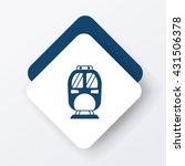 train icon | Shutterstock .eps vector #431506378