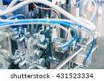 pneudraulic device | Shutterstock . vector #431523334