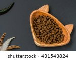 Dry Pellet Cat Food In Cat...