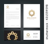 luxury logo and corporate...   Shutterstock .eps vector #431559598