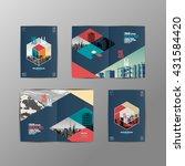template design layout  ... | Shutterstock .eps vector #431584420