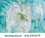 abstract background. ink marble ... | Shutterstock . vector #431595379