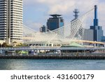 kobe maritime museum meriken... | Shutterstock . vector #431600179