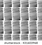 hand drawn black and white... | Shutterstock .eps vector #431603968