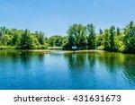 the beautiful toronto islands ...   Shutterstock . vector #431631673