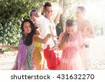 young smiling people... | Shutterstock . vector #431632270