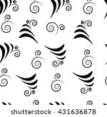 Abstract Floral Elements Pattern