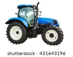 new modern agricultural tractor ... | Shutterstock . vector #431643196