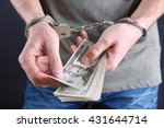 Man In Handcuffs Counting...