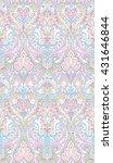 pastel  watercolor paisley... | Shutterstock . vector #431646844