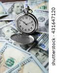 Time Is Money Concept With...