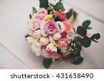 wonderful luxury wedding...   Shutterstock . vector #431658490