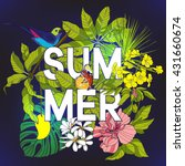 "card with word ""summer"" and... 