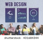 web design mobile interface...