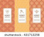 vector packaging template with... | Shutterstock .eps vector #431713258