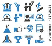 success icon set | Shutterstock .eps vector #431718196