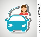 public transport service design  | Shutterstock .eps vector #431718418