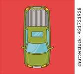 car isolated design    Shutterstock .eps vector #431721928