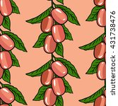 seamless vector pattern of... | Shutterstock .eps vector #431738476