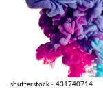 splash of paint. abstract... | Shutterstock . vector #431740714