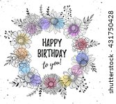 Birthday Greeting Card With...