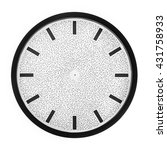 Clock Face Without Hands. The...