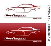 logo design element with... | Shutterstock .eps vector #431766274