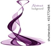 abstract background with wave... | Shutterstock .eps vector #431772484