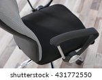 new office chair on the floor ... | Shutterstock . vector #431772550