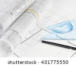 housing project | Shutterstock . vector #431775550