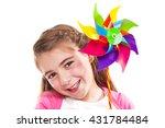 Happy Smiling Little Girl...