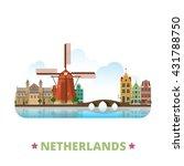 netherlands country design... | Shutterstock .eps vector #431788750