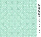 white patterned net lace on... | Shutterstock .eps vector #431808430