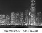 modern office building in hong...   Shutterstock . vector #431816230