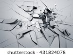 abstract 3d rendering of... | Shutterstock . vector #431824078